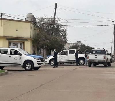 La policía desactivó un desarmadero de autos en la zona norte de Concordia