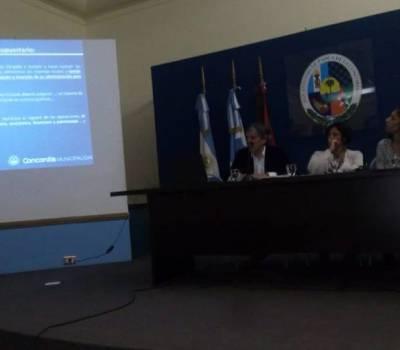 Culminaron las  Jornadas  sobre Administración Pública en la Municipalidad de Concordia